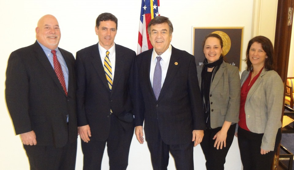 BOMA Representatives with Cong. Ruppersberger